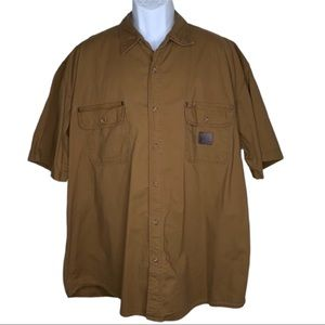 Timberland Pro Series Brown Shirt